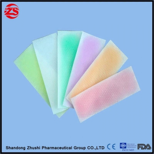 New Natural Drug Flavor Fever Cooling Gel Patch for Relieve Baby Fever