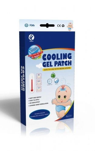 Cooling Gel Patch Pain Relief Therapy Headache Healthcare Product